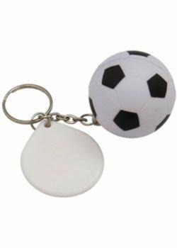 Chaveiro Bola de Futebol Anti Stress 12455