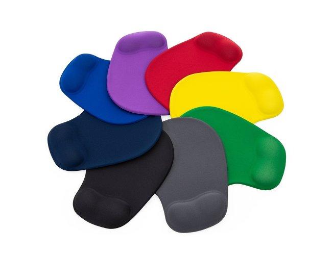 Mose pad ergonomico com apoio de punho de silicone.