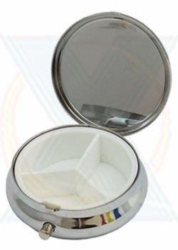 Porta Comprimido de Metal 12675