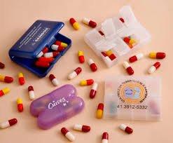Porta Comprimido Plástico RL103
